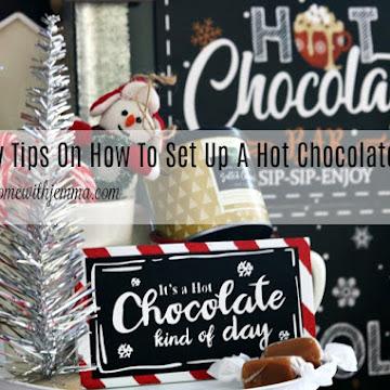 Easy Hot Chocolate Bar