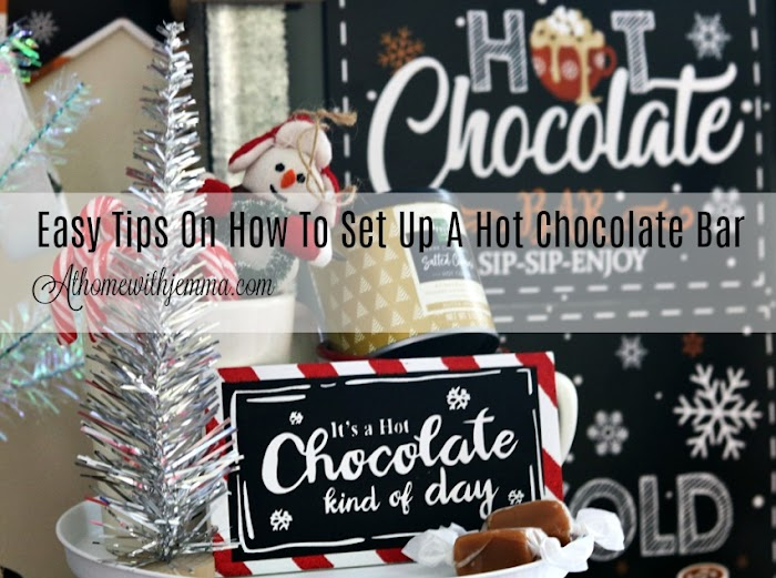 Holiday Entertaining: Setting Up An Easy Hot Chocolate Bar