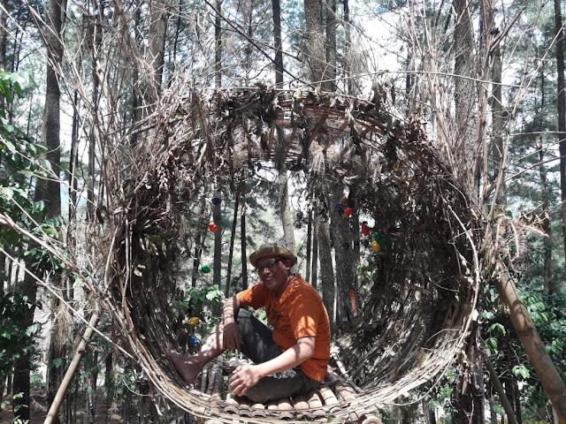 foto seru di wisata alam kroncong sari kebumen