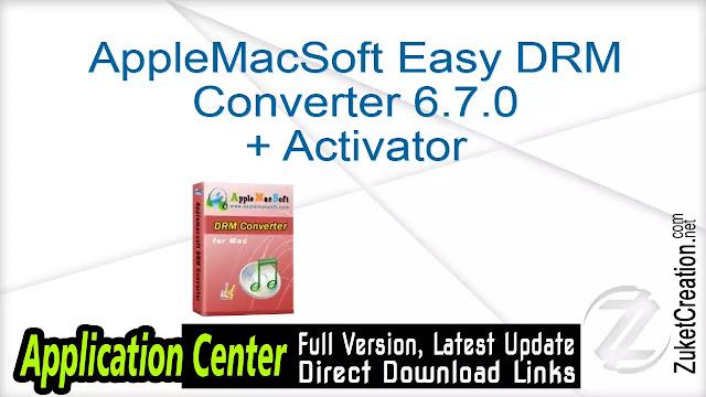 AppleMacSoft Easy DRM Converter