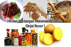 Pantangan Makanan Penderita Ginjal Bocor