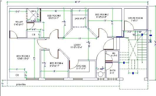 How to Plan Area in AUTOCAD?