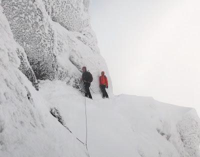 Tower ridge, Ben Nevis, Eastern Traverse