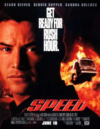 Poster Of Speed 1994 Dual Audio 500MB BRRip 720p ESubs HEVC Free Download Watch