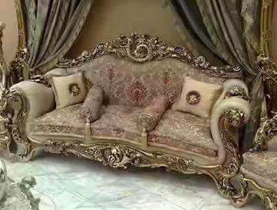 model sofa klasik untuk ruang keluarga