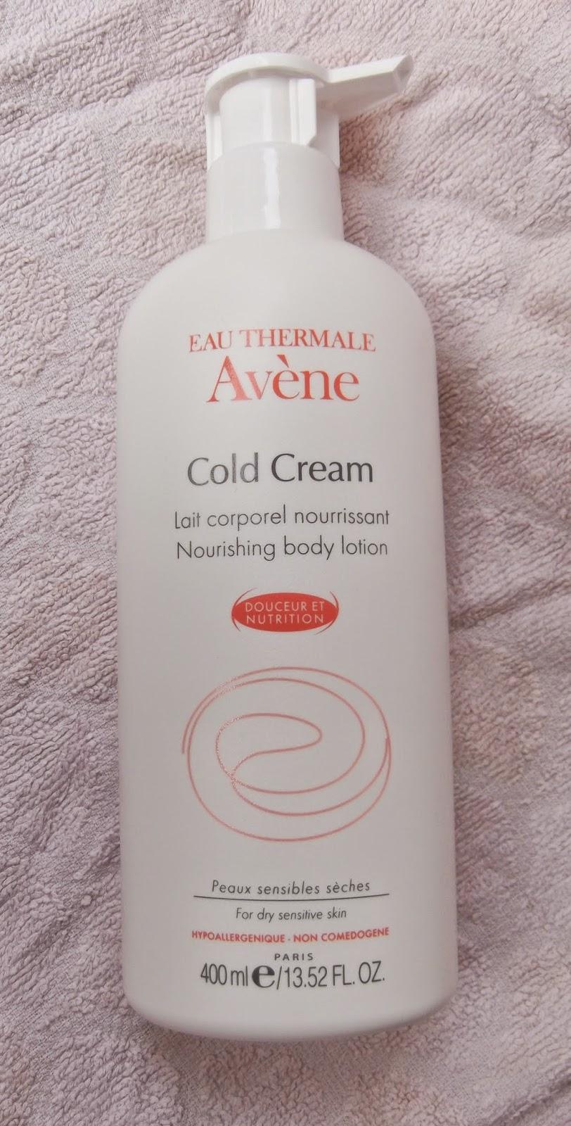 AVENE  Lait Corporel Nourrissant Cold Cream