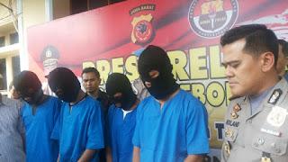 Polres Cirebon Kota Berhasil Membekuk Pelaku Kejahatan Jalanan