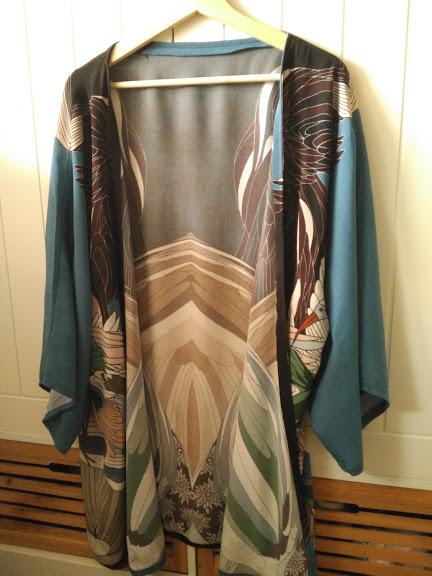 chaqueta kimono, kimono jacket, costura, sewing, couture