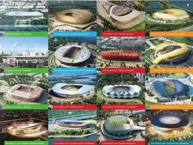 Stadion yang digunakan dalam Piala Dunia 2018
