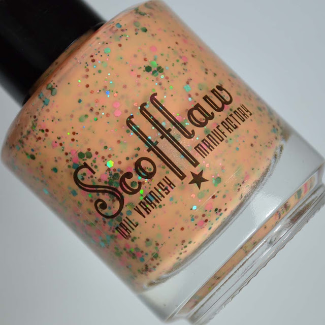 orange crelly nail polish