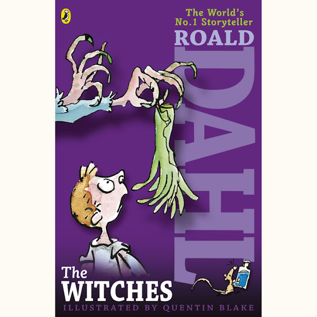 Books by Roald Dahl include The Witches and James and the Giant Peach.