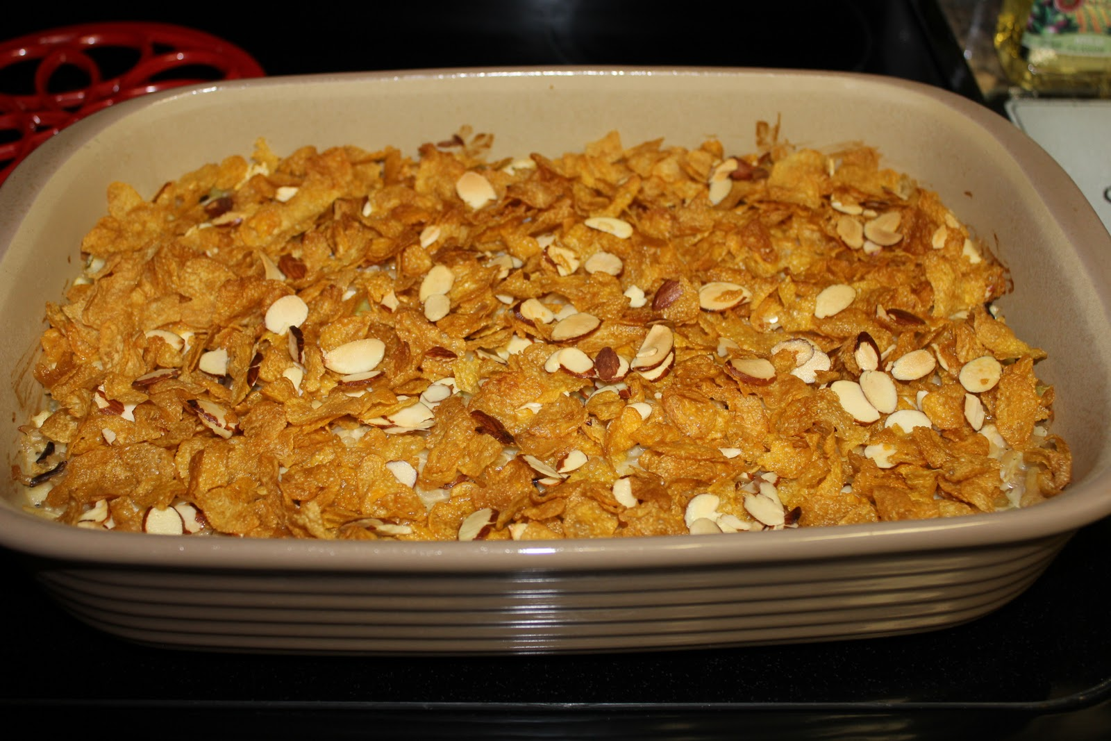 Simply Made With Love Almond Chicken Casserole