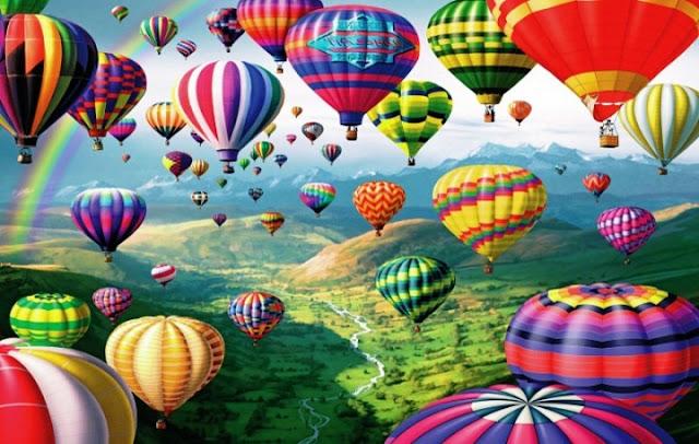 Abadikan Momen Bersama Keluarga dan Kerabat Dekat dengan Balon Udara