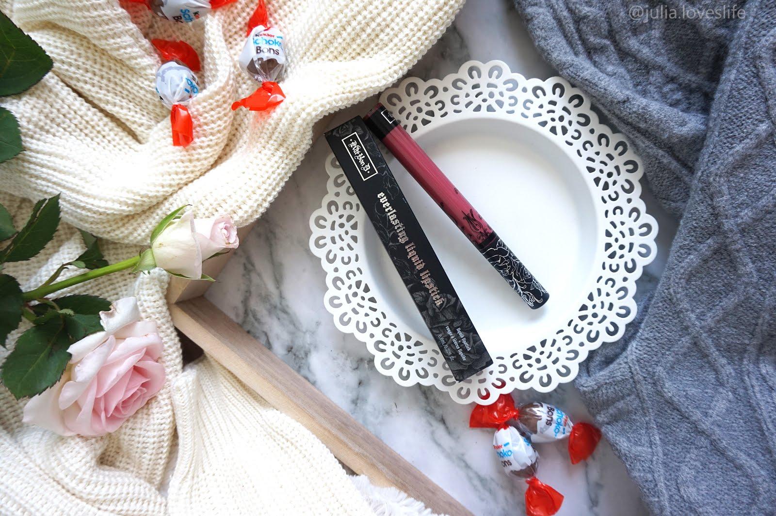 Kat Von D Everlasting Liquid Lipstick | Matowa pomadka | moja opinia + zamiennik | czy warto kupić?