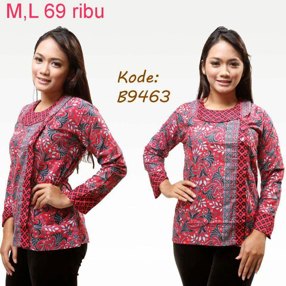Model Baju Batik Terbaru: Kumpulan Model Baju Batik Wanita