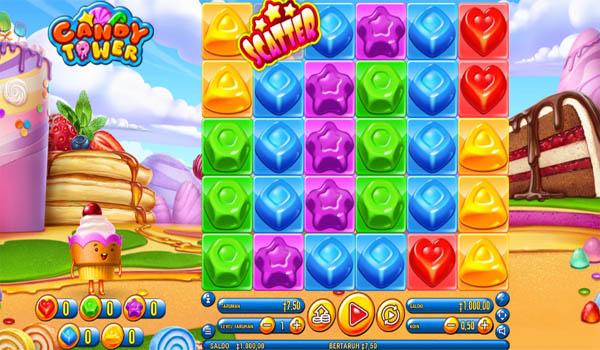 Main Gratis Slot Indonesia - Candy Tower Habanero