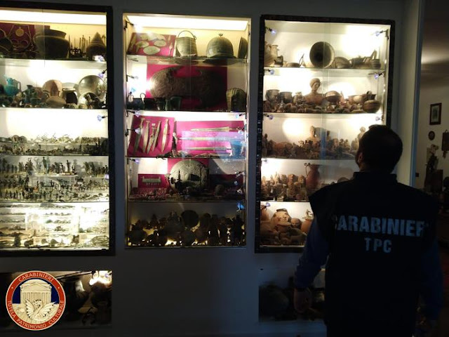 European police bust gang looting artifacts in Italy