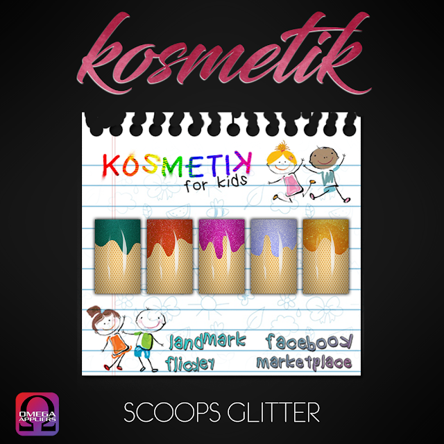 ".kosmetik Kids Nail Appliers ""Sweet Treat"""
