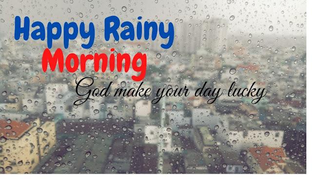 Beautiful Good Morning HAPPY Rainy Day HD Image