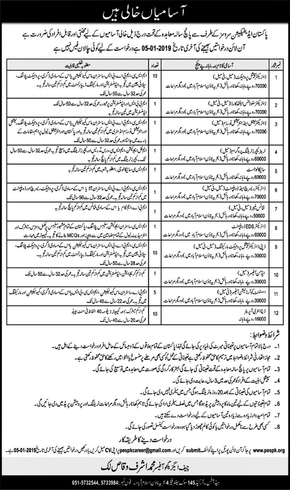 Pakistan Edification Services PES Jobs 2019  jobs in pakistan,pakistan edification services jobs,pakistan jobs,pakistan edification services pes jobs 2019 online form,latest jobs in pakistan,jobs in pakistan 2018,pakistan army jobs 2018,pakistan edification services,pakistan army jobs,ppsc jobs,pakistan,govt jobs,pakistan agriculture research council (parc) jobs 2019,govt jobs pakistan,jobs in pakistan 2019,latest jobs,edification services