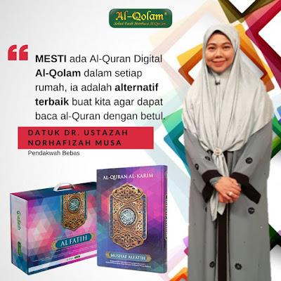 review al quran digital mushaf al fatih ustazah norhafizah musa
