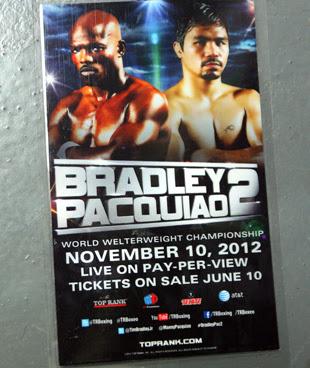 Manny Pacquaio versus Timothy Bradley 2