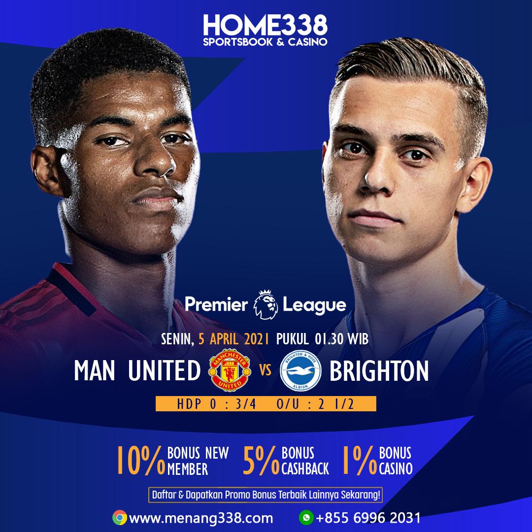 Prediksi Manchester United vs Brighton & Hove Albion