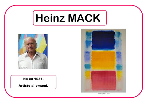 Heinz Mack - Portrait d'artiste en maternelle selon Barbara