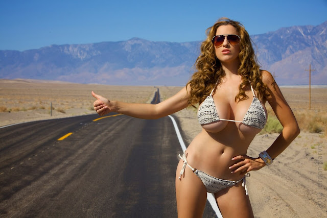 Jordan-Carver-Busty-Photoshoot-Road-Sign-Pic-5