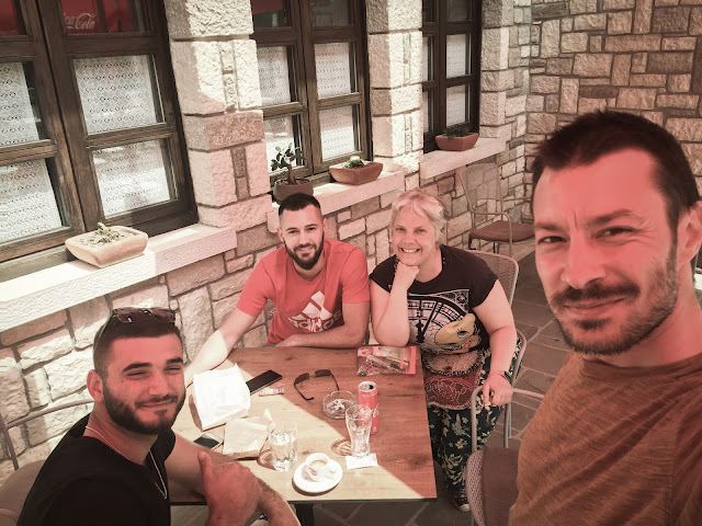 Rati, Ardi, Marcel & Olivia in Berat, Albania