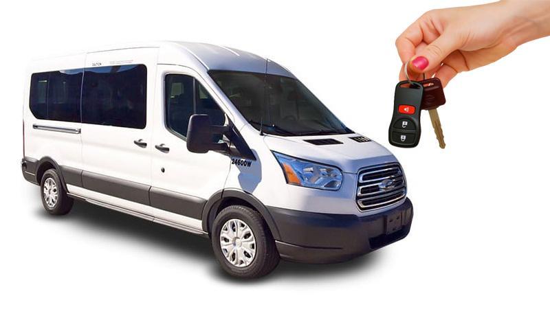 hiring a van