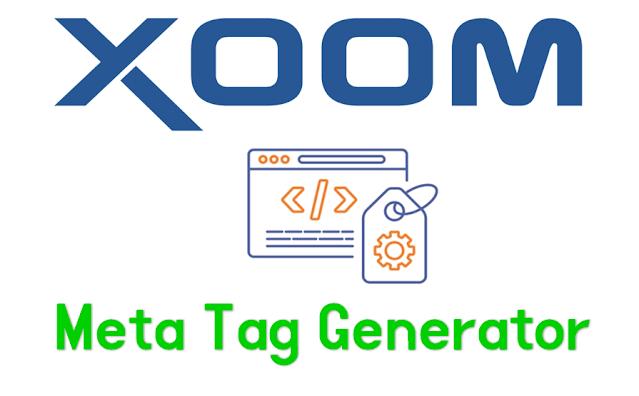 Meta Tag Generator Free Tool By Xoom Internet