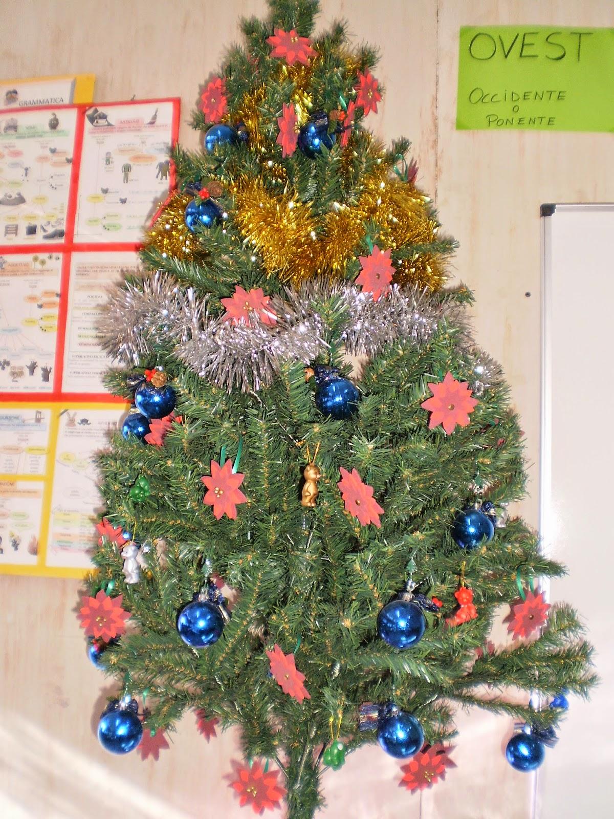 La classe dei balocchi addobbi natalizi for Addobbi natalizi per la classe