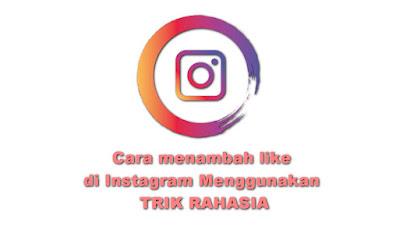 Menambah Like di Instagram