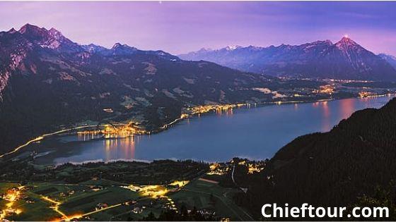 Thun, the beautiful town in Switzerland: