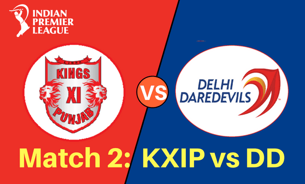KXIP vs DD full scorecard
