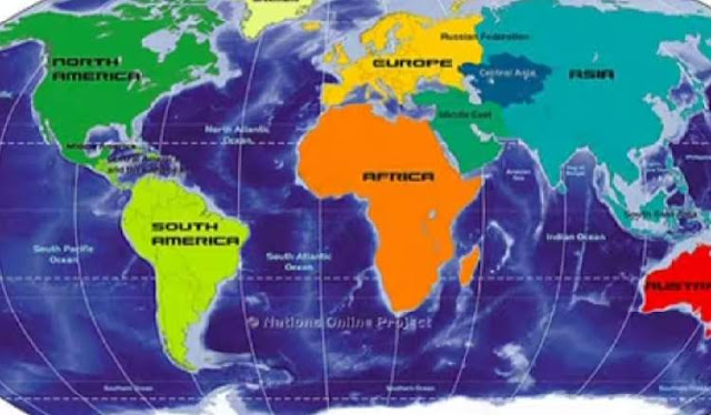 Africa is the  largest of the earths seven continents