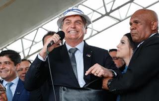 Presidente Jair Bolsonaro estará na Paraíba na próxima quinta-feira