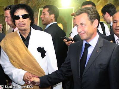 Khaddafi allt starkare