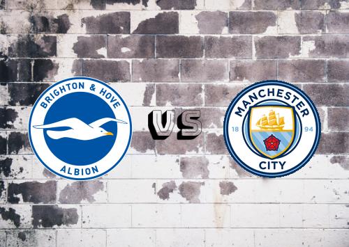 Brighton & Hove Albion vs Manchester City  Resumen y Partido Completo