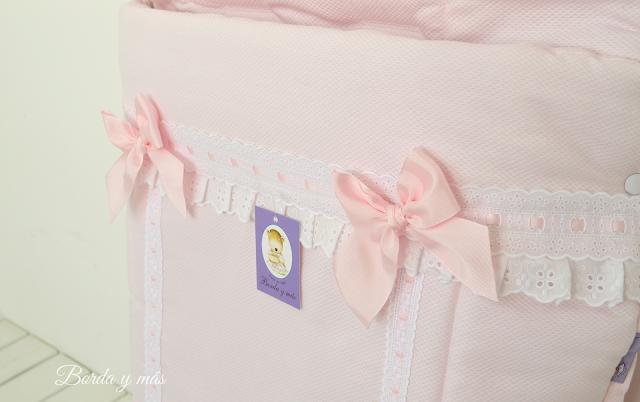 Vestidura rosa para silla Bebecar IpOp XL