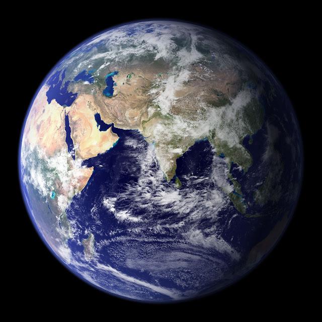 Blue Marble: Eastern Hemisphere