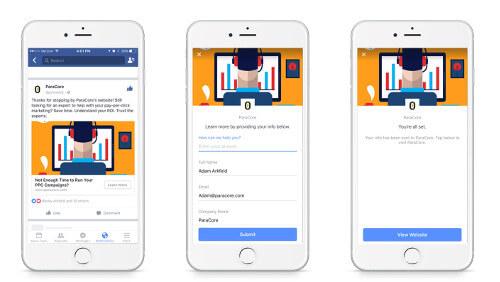 Facebook Leads untuk menghasilkan uang