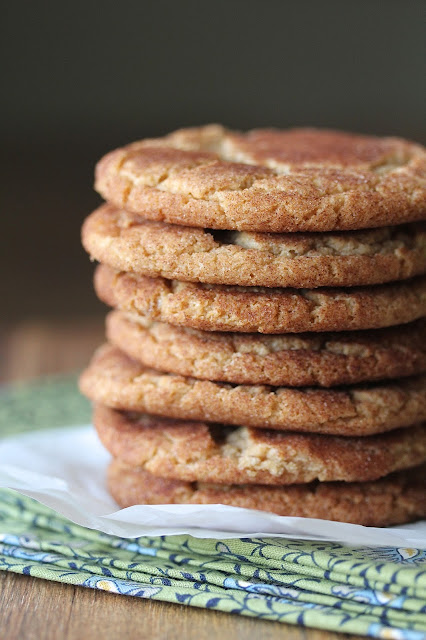 Brown Butter Snickerdoodles from Karen's Kitchen Stories
