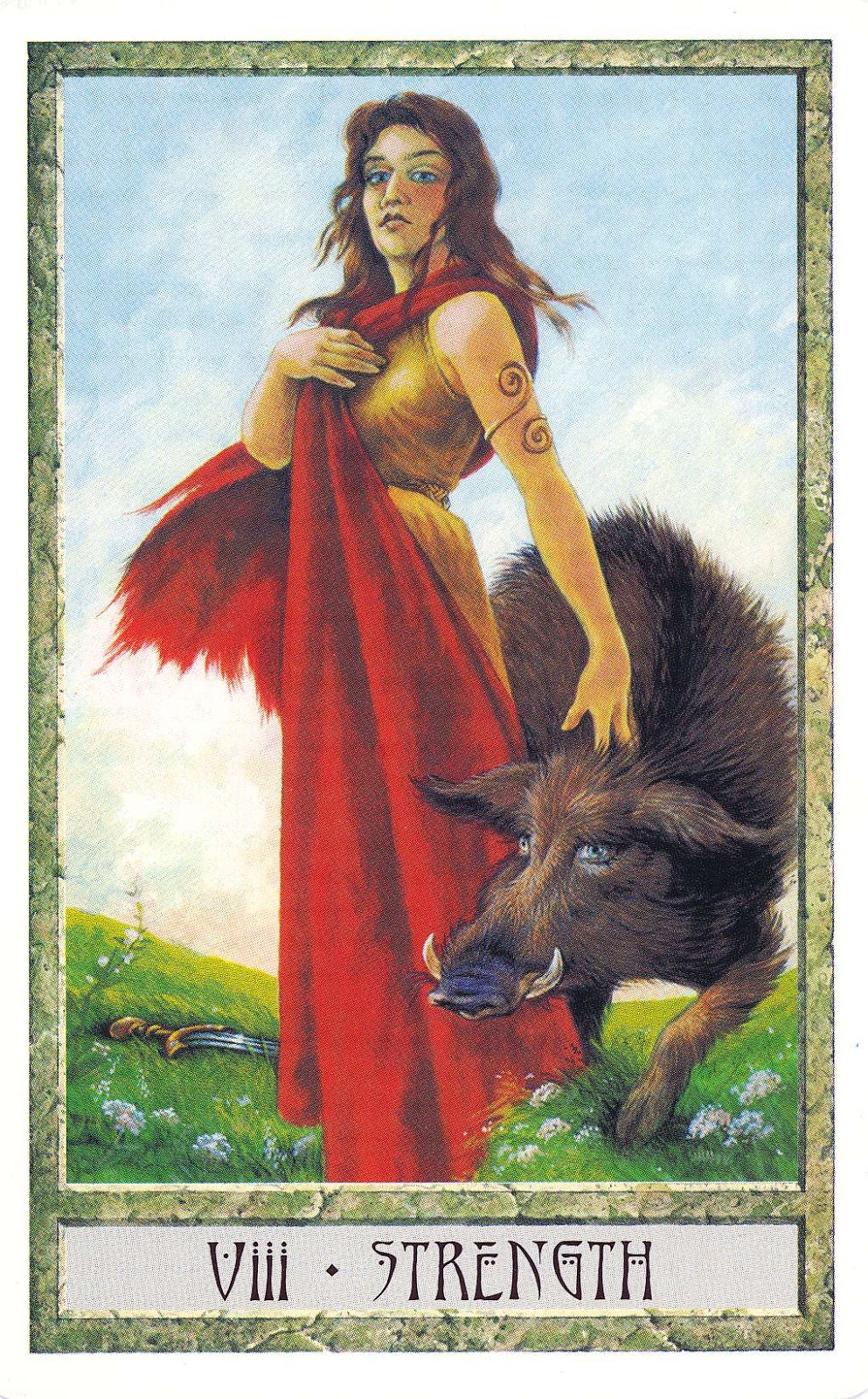 Strength Tarot Card: Inner Whispers: Beauty And The Beast