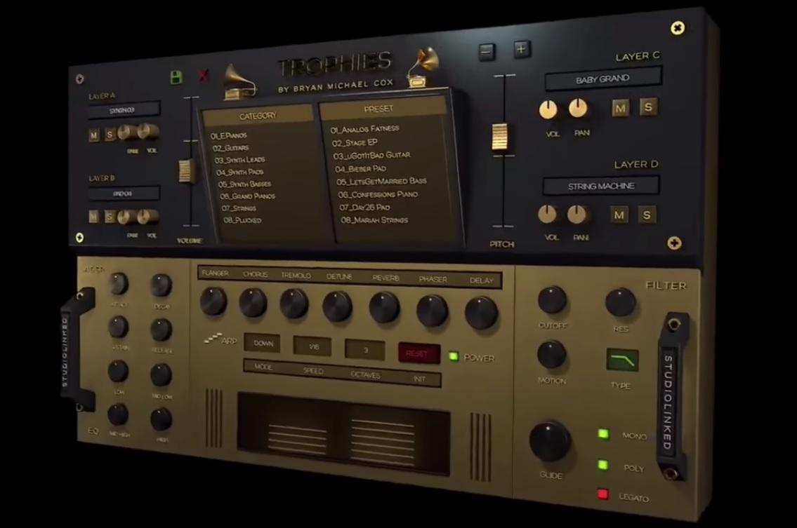 Studiolinked Trophies [Hiphop, RnB Beatmaker VST] - I T