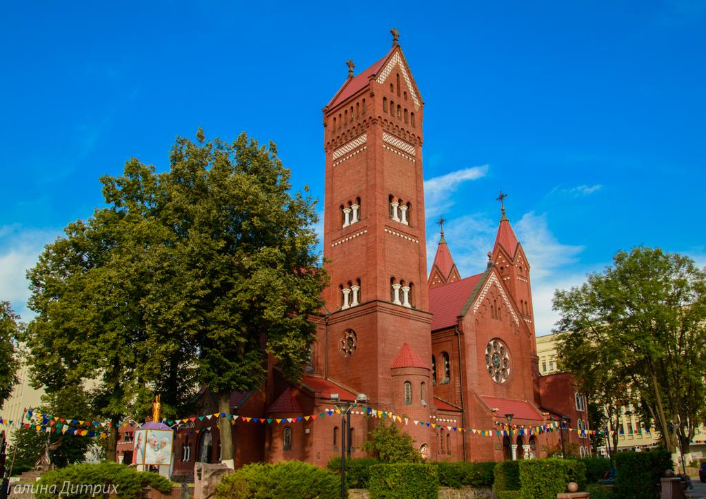 католическая церковь Симеона и Елены Минск фото