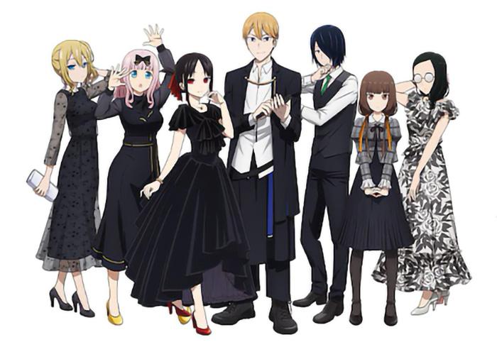 Kaguya-sama: Love is War (Kaguya-sama wa Kokurasetai: Tensai-tachi no Renai Zunôsen) anime