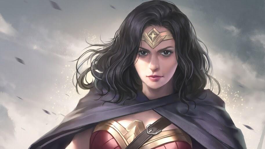 Wonder Woman, DC, Comics, Art, 4K, #6.1193