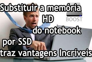 memoria ssd notebook vantagens